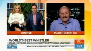 David Morris on Sunrise Australia